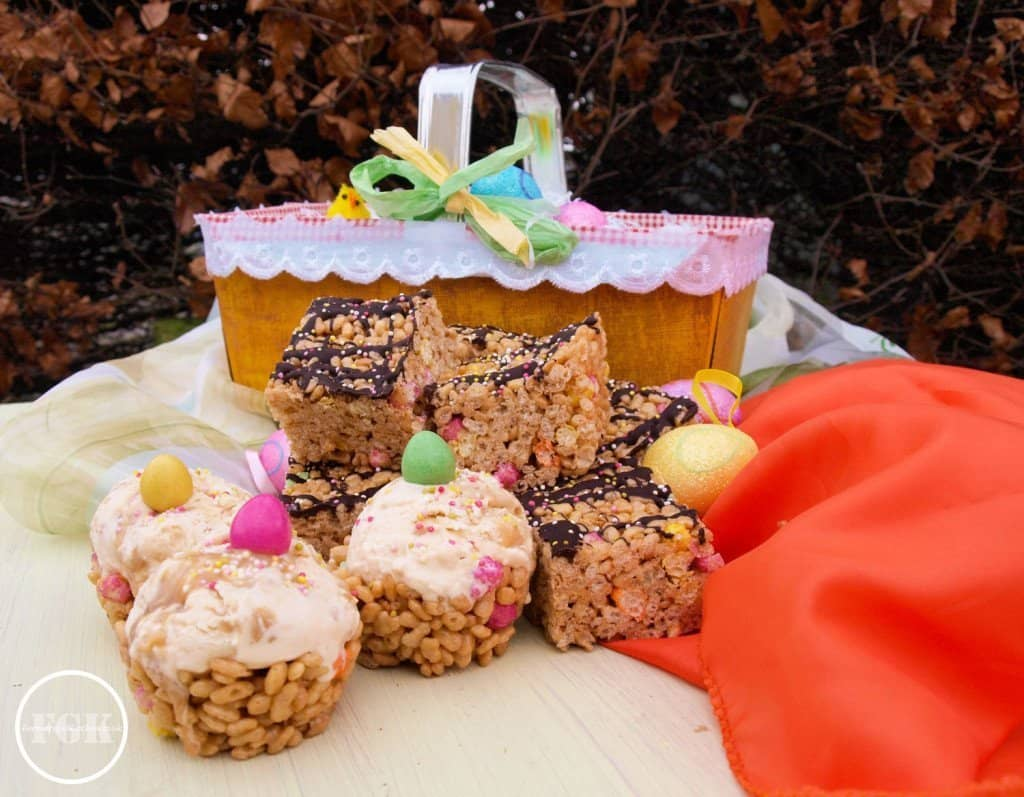 Fiesta Rice Crunchie No Bake Treats
