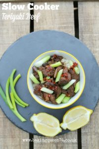 Slow Cooker Teriyaki Beef Baking Queen 74