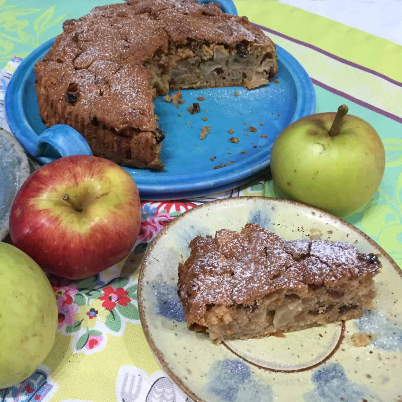 Wooden Spoon Apple Cake