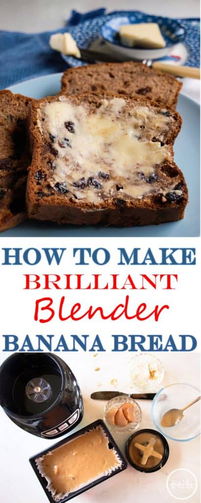 How to make Brilliant Blender Banana Bread, it's so easy!